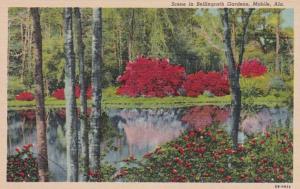 Alabama Mobile Scene At Bellingrath Gardens Curteich