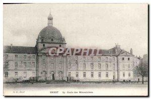 Postcard Old Brest School of Mechanics