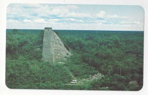 Mexico Coba Archaeological Zone Mexico Vtg Postcard