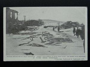 Canada Nova Scotia HALIFAX DEVASTATED BY GREAT EXPLOSION c1917 Postcard
