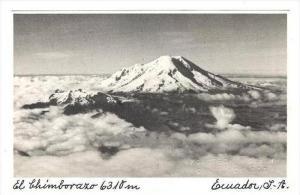 RP  El Chimborazo 6310m, Ecuador, S.A., A STEIN Photo Postcard
