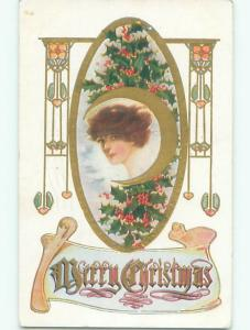 Divided-Back CHRISTMAS SCENE Great Postcard AA0120