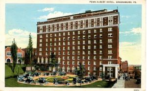 PA - Greensburg. Penn Albert Hotel