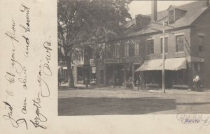 RP; DAMARISCO , Maine , 1908 ; Main Street Storefronts
