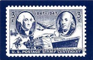 US Postage Stamp Centenary 1947 Stamp Unused