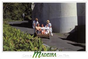 Postcard MADEIRA, Monte, Carro de Cesto, Tobogan #896