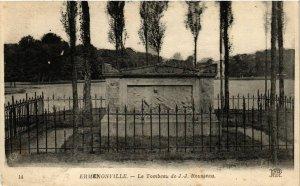 CPA ERMENONVILLE - Le Tombeau de J. J. Rousseau (423480)