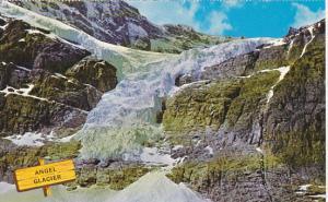 Canada Angel Glacier Jasper Park Alberta