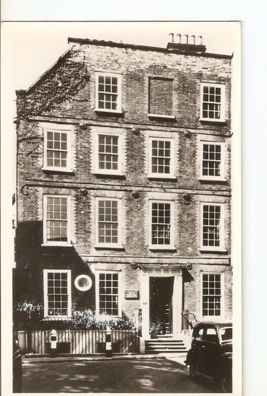 Postal 036196 : Dr. Johnsons House  Gough Square London