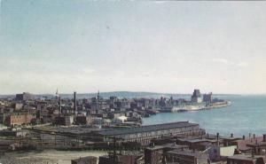 Scenic view,  St. John Harbour,  St. John,  N.B.,  Canada,  40-60s