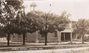 RP: ARTHUR , Ontario , 1910-30s ; Public School