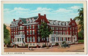 1915-1930 Lancaster PA Y.W.C.A. YWCA Building RARE Old Antique WB Era Postcard