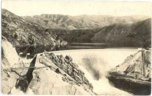 RPPC of Arrowrock Dam, Boise River, Idaho, ID