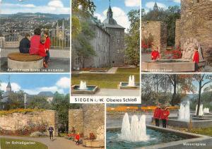 Siegen Oberes Schloss, Rubensbrunnen Wasserspiele Im Schlossgarten Krebs