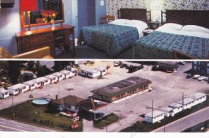 2-Views, Motel White House, Beauport, Quebec, Canada, PU-1986