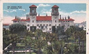 Florida Saint Augustine The Alcazar Hotel 1917
