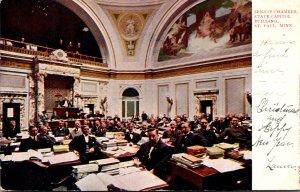Minnesota St Paul State Capitol Building Senate Chamber 1905