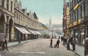 DEWSBURY , Yorkshire , UK , 1907 ; Corporation Street