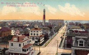 Bird's-eye view of Atlantic City, N. J., USA in Atlantic City, New Jersey
