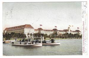 Palm Beach FL Royal Poinciana Hotel Vintage 1907 Postcard