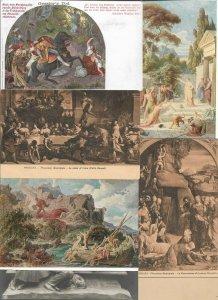 Religion - Jesus Christ St Jean Baptiste and more Postcard Lot of 50  -  01.02
