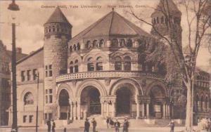 Connecticut New Haven Osborn Hall Yale University Albertype
