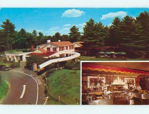 Unused Pre-1980 LORD FOX RESTAURANT Foxboro Massachusetts MA s0463