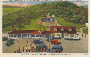 U.S. 30 ; Lincoln Highway ; Bill's Place Gas Station & Post Office , Pennsylv...