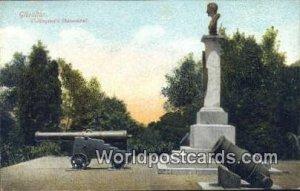 Wellington's Monument Gibralter Unused