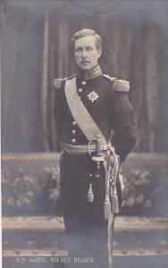 King Albert Of Belgium In Military Uniform Photo