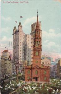 Saint Pauls Chapel New York