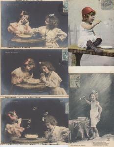 BULLES DE SAVON SOAP BUBBLES  20 Cartes Postales 1900-1940 (L3610)