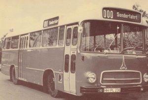 Sonderfaht German Bus Magirus Deutz Saturn II Postcard