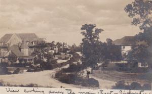 RP: PINEHURST , North Carolina , 1906 ; View down Main Street
