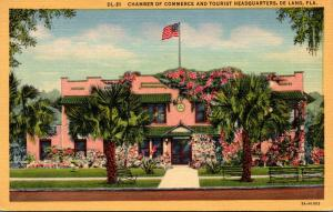 Florida Deland Chamber Of Commerce and Tourist Headquarters Curteich