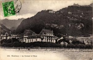 CPA AK MONTREUX Le Kursaal et CAUX SWITZERLAND (704780)