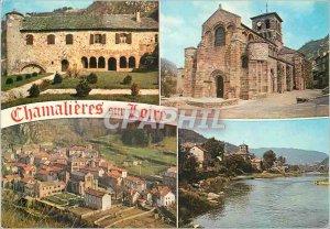 Postcard Modern Chamalieres sur Loire (Haute Loire) Altitude 517 meters