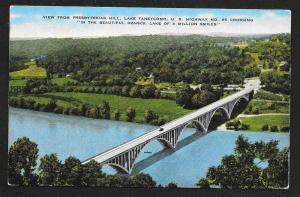 Lake Taneycomo Bridge US Rte 65 Ozarks MO unused c1930s