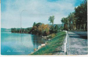 LES ESCOUMAINS, Saguenay, Quebec, Canada, 50-60s; Pop out Views