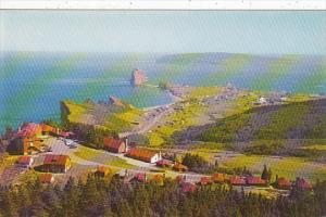 Canada Quebec Perce Peak O'Dawn & Perce Village