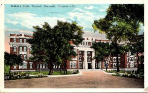 Kansas Emporia Kansas State Normal School 1945