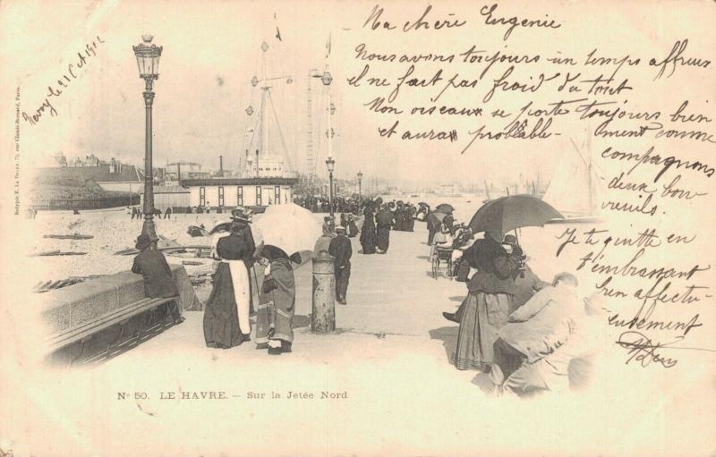 France Le Havre Sur la Jetée Nord 02.36