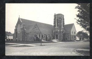 RPPC FAIRMOUNT MINNESOTA EMMANUEL LUTHERAN CHURCH REAL PHOTO POSTCARD