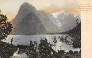 The Lion Mountain Pembroke Glacier Milford Sound Fiordland New Zealand postcard