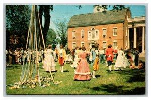 Vintage 1950's Postcard Dover Days Celebration at Delaware's Old State House