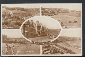 Yorkshire Postcard - Views of Sandsend     RS18412