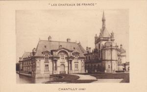 CHANTILLY, Oise, France, 1900-1910´s; Les Chateaux De France
