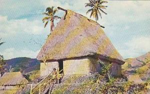 Chief's House, Fijian Bure (House), Fiji, 1940-1960s
