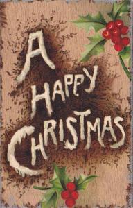 TUCK #5, A Happy Christmas, Holly, 00-10s