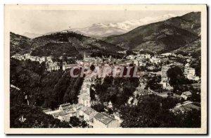 Old Postcard Amelie Les Bains Vue Generale Canigou